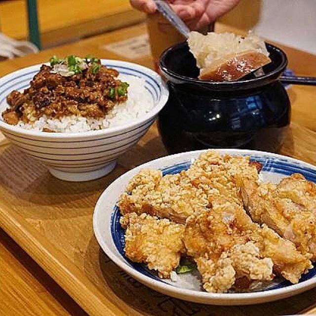 鹽酥雞扒滷肉飯 晚市套餐 - 四季良晨 - 台式飲品 - 將軍澳 - 香港
