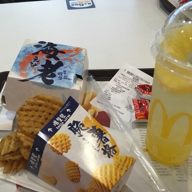 魚柳蝦堡 - 麥當勞 - 快餐店 - 將軍澳 - 香港