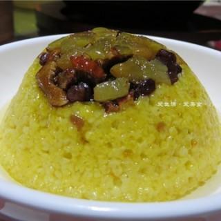 黄米八宝饭 - ใน石牌 จากร้าน西贝西北菜 (石牌)|Guangzhou
