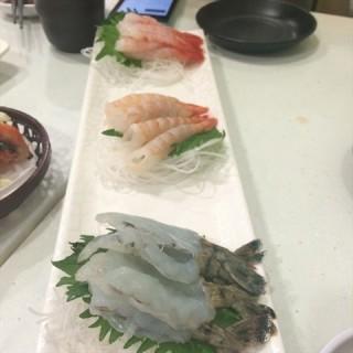 三虾刺身 - gongyuanqian's DaiWo Sushi (gongyuanqian)|Guangzhou