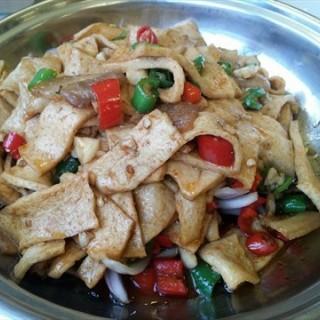 干锅千叶豆腐 - ใน王家湾 จากร้าน餐谋天下 (王家湾)|Wu Han