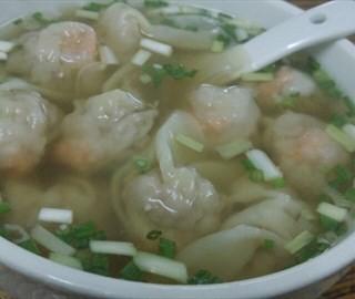 鲜虾蟹子云吞汤面 - xinhuazhen's 威记竹升面 (xinhuazhen)|Guangzhou