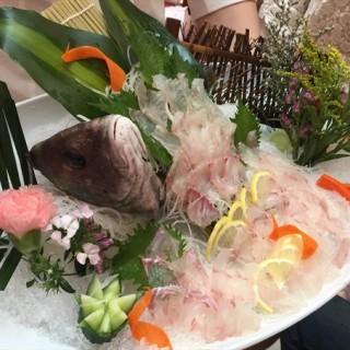 海鲈刺身 - huanghuagang's 金田中日本料理 (huanghuagang)|Guangzhou