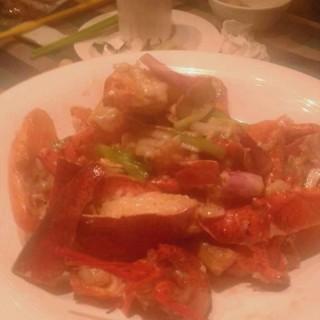 葱爆龙虾 - liwanqu's 兰桂坊 (liwanqu)|Guangzhou