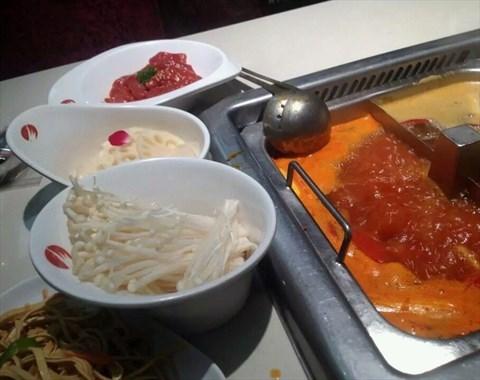 金针菇 - 海底捞火锅 - 陪客吃饭 - 大望路 - 北京