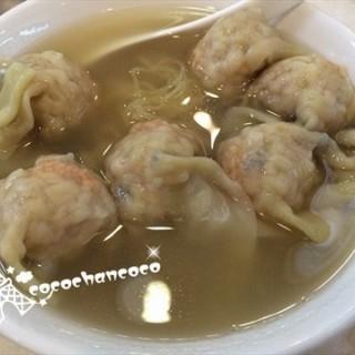 鲜虾蟹籽云吞面 - dongshankou's 满庭面家 (dongshankou)|Guangzhou