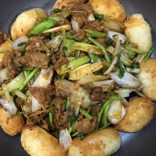 锅贴烤肉 -  dari 人民公社大食堂 (天通苑) di 天通苑 |Beijing