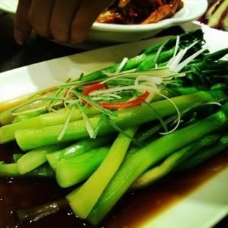 白灼芥兰 - 位於西康路沿线 的聚香林餐厅 (西康路沿线 ) | 天津