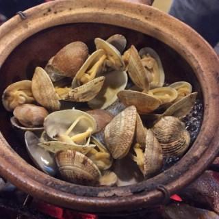 蜆 - ใน大埔 จากร้านTai Mei Tuk Ting Kok BBQ Farm (大埔)|ฮ่องกง