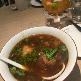 豬軟骨麵,熱水果茶 - 位於屯門的茶木‧台式休閒餐廳 (屯門) | 香港
