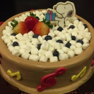 Snoopy朱古力派對蛋糕 - 位於大圍的聖安娜餅屋 (大圍)   香港