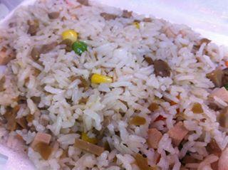 欖菜菇粒炒飯 - 位於灣仔的東方小祇園齋菜 (灣仔) | 香港