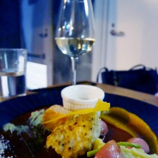 Salmon Confit with White Wine Cream Saue - 位於大坑的Warren (大坑) | 香港