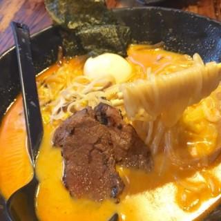 燒汁極上和牛拉麵芝士辣湯底 - 位於元朗的野川拉麵 (元朗)   香港