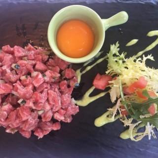 Beef Tartar - ใน尖沙咀 จากร้านThe Captain's House (尖沙咀) ฮ่องกง