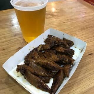 秘制辣汁雞翼尖 - 位於深水埗的七木橋車仔麵 (深水埗) | 香港