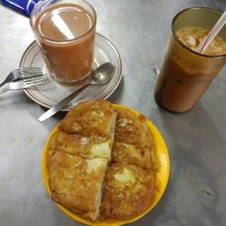 咖央西多士,凍奶茶,茶走 - 位於赤柱的泗益 (赤柱) | 香港