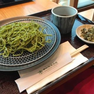 抹茶蕎麥麵(冷) - 位於尖沙咀的中村藤吉香港店 (尖沙咀)   香港