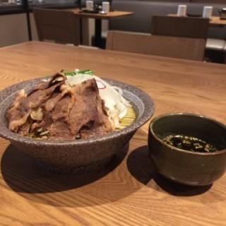 牛肉蕎麥沾麵 - 位於的丼丼亭 (銅鑼灣)   香港