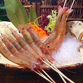 生猛海中蝦🌊🦐  - 位於尖沙咀的粵廷軒海鮮火鍋酒家 (尖沙咀) | 香港