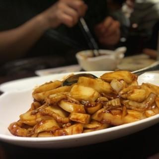 津白肉絲炒年糕 - 位於的夏麵館 (樂富)   香港