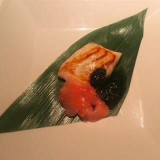 鯛のコンフィー 大葉ソース - Gion, Kiyomizu-dera, Higashiyama's ITOH DINING (Gion, Kiyomizu-dera, Higashiyama)|Kyoto