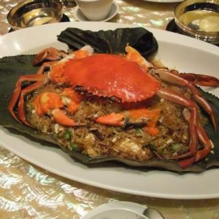 魚翅膏蟹鮮蝦荷葉飯 -  dari The Eight (南灣) di 南灣 |Macau