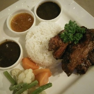 Grilled Ginger Pork S.Loin-Rice  - Kepong's Metalcube 1008 Cafe & Bistro (Kepong)|Klang Valley