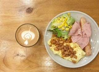 No big breakfast - Kepong's Posh Coffee Roastery (Kepong)|Klang Valley