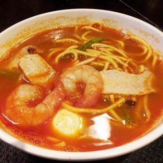 Sentosa's Penang Ah Mei Hokkien Prawn Mee - Malaysian Food Street (Sentosa)|Singapore