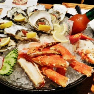 King Crab & Oysters - Marina Bay's Todai (Marina Bay)|Singapore