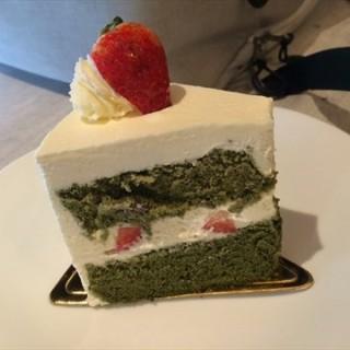 Matcha Chiffon Cake -  Clarke Quay / Dulcet & Studio (Clarke Quay)|Singapore