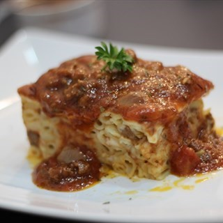 Baked pasta with Beef/Chicken -  Ang Mo Kio / Rainbow Cottage Cafe (Ang Mo Kio) Singapore