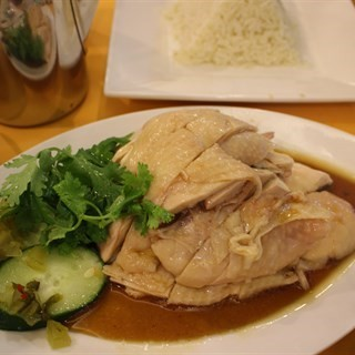Boiled  chicken -  River Valley / 文東記 (River Valley)|Singapore