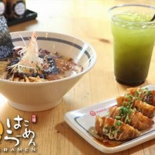 Tonkotsu Ramen Gyoza Green tea Matcha - ในอ.คลองหลวง จากร้านฮาโกะ ราเม็ง (อ.คลองหลวง) กรุงเทพและปริมลฑล