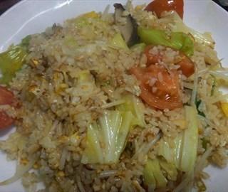 蔬菜蛋炒飯+飯 - 位於中西區的丹嘉食堂 (中西區) | 台南